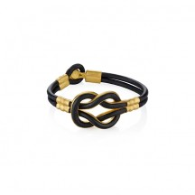 Heracles Leather Bracelet